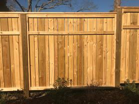 Custom Privacy Fence