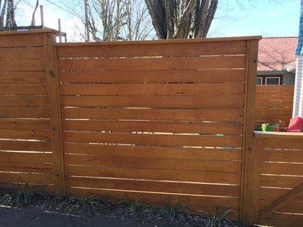 Modern Fence Asheville