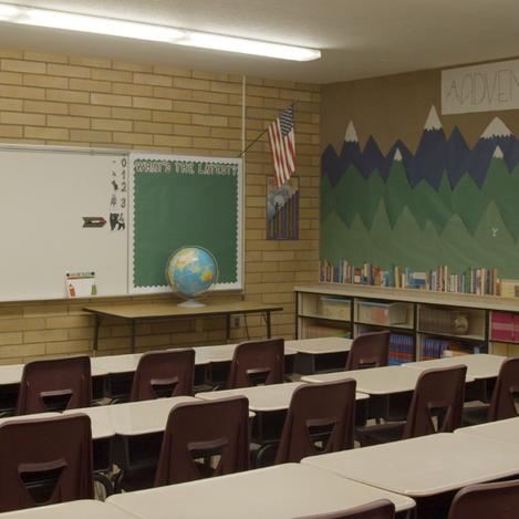 Classroom Set-Up: Taylon Mann