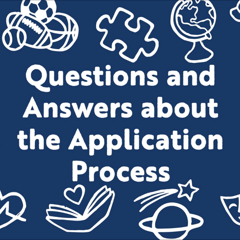 FAQ: What is the application process?