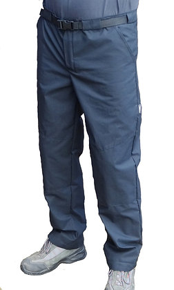 LADIES COLL TROUSERS NAVY BLUE 14/33  V051