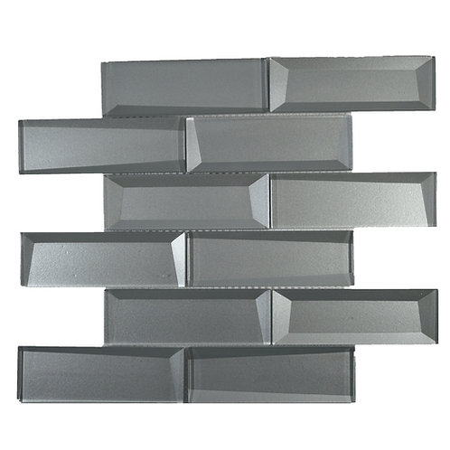 Beveled Glass Pewter