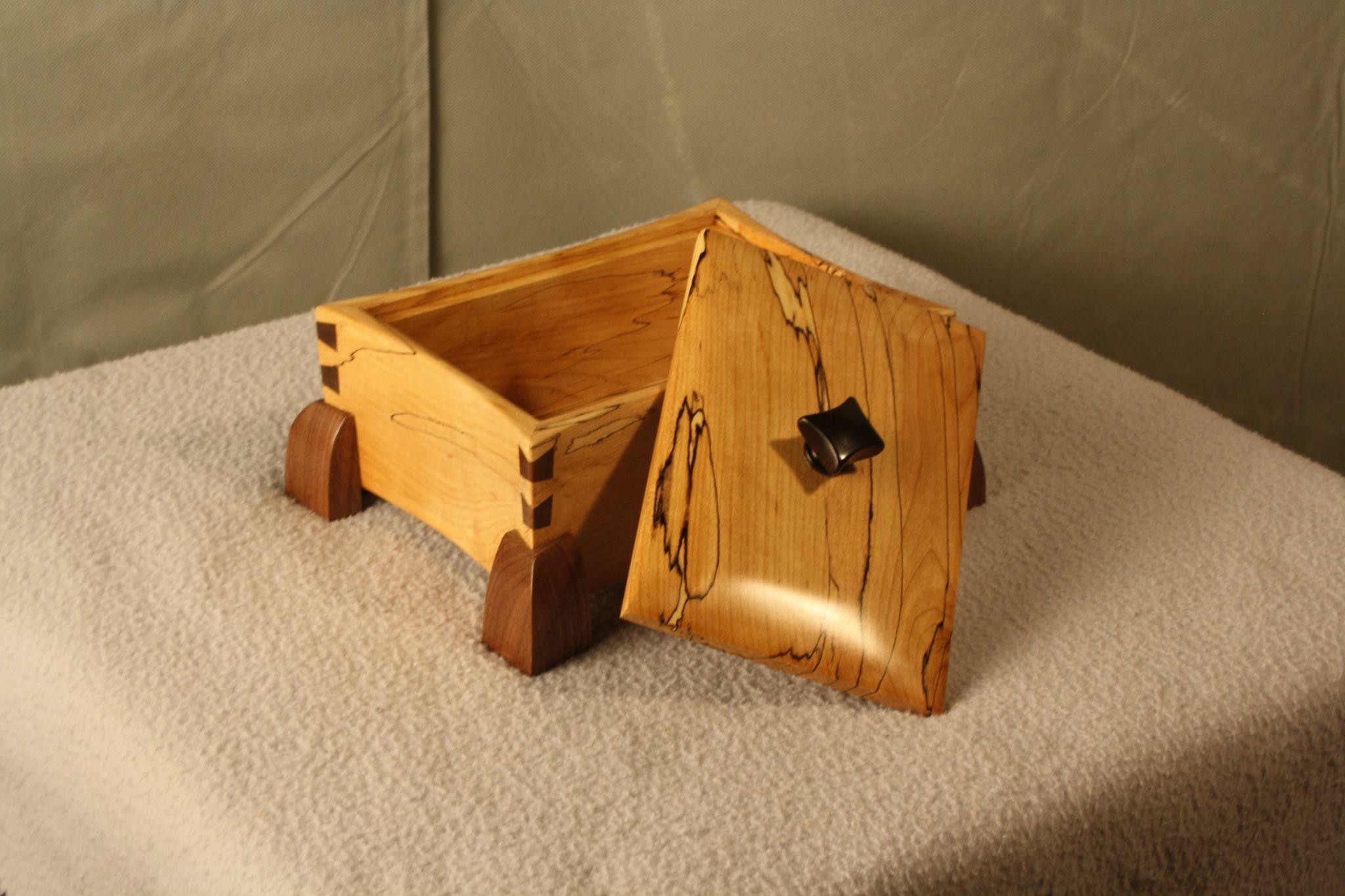 Keepsake Box Open
