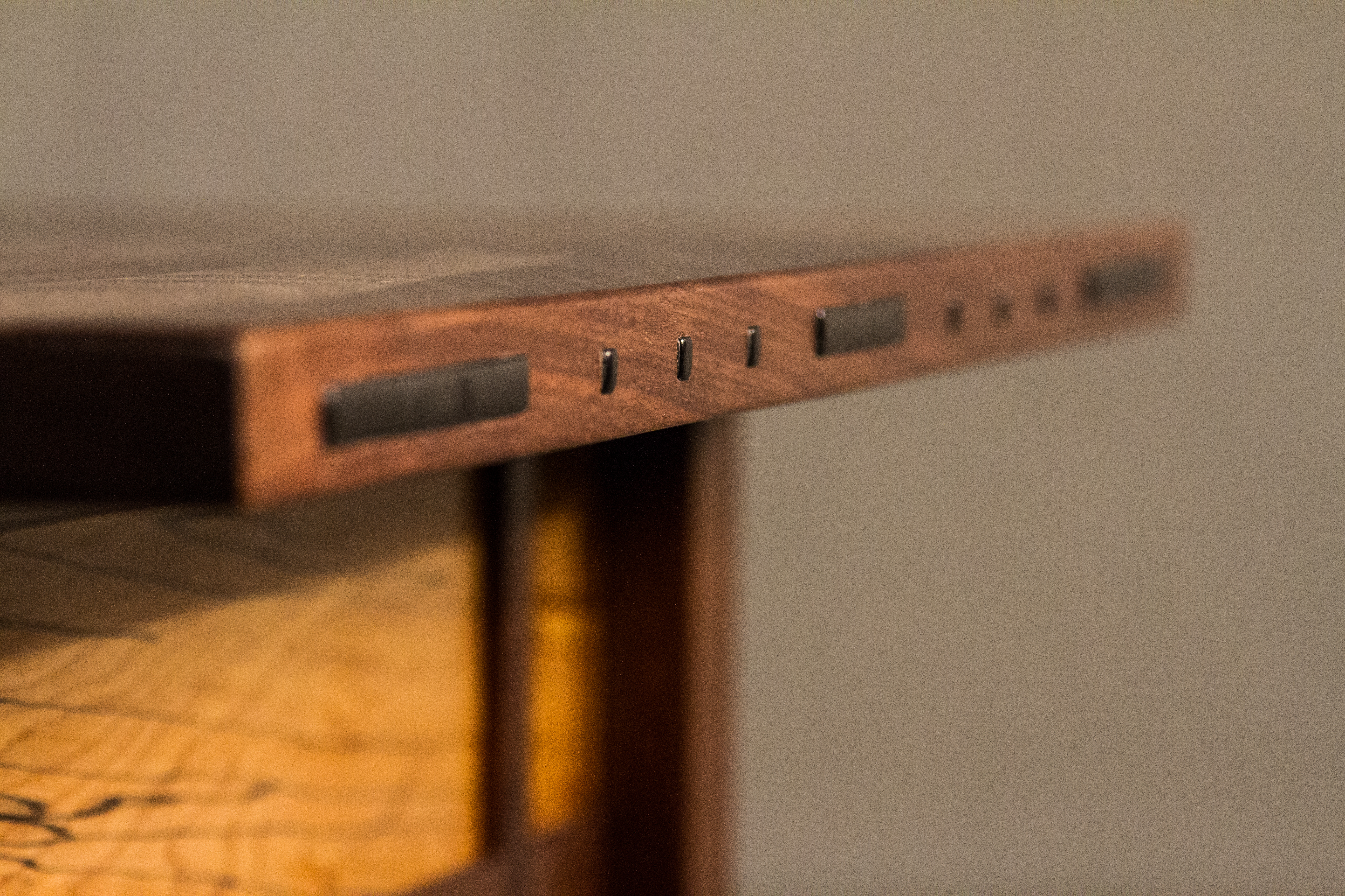 Ebony Inlay Detail