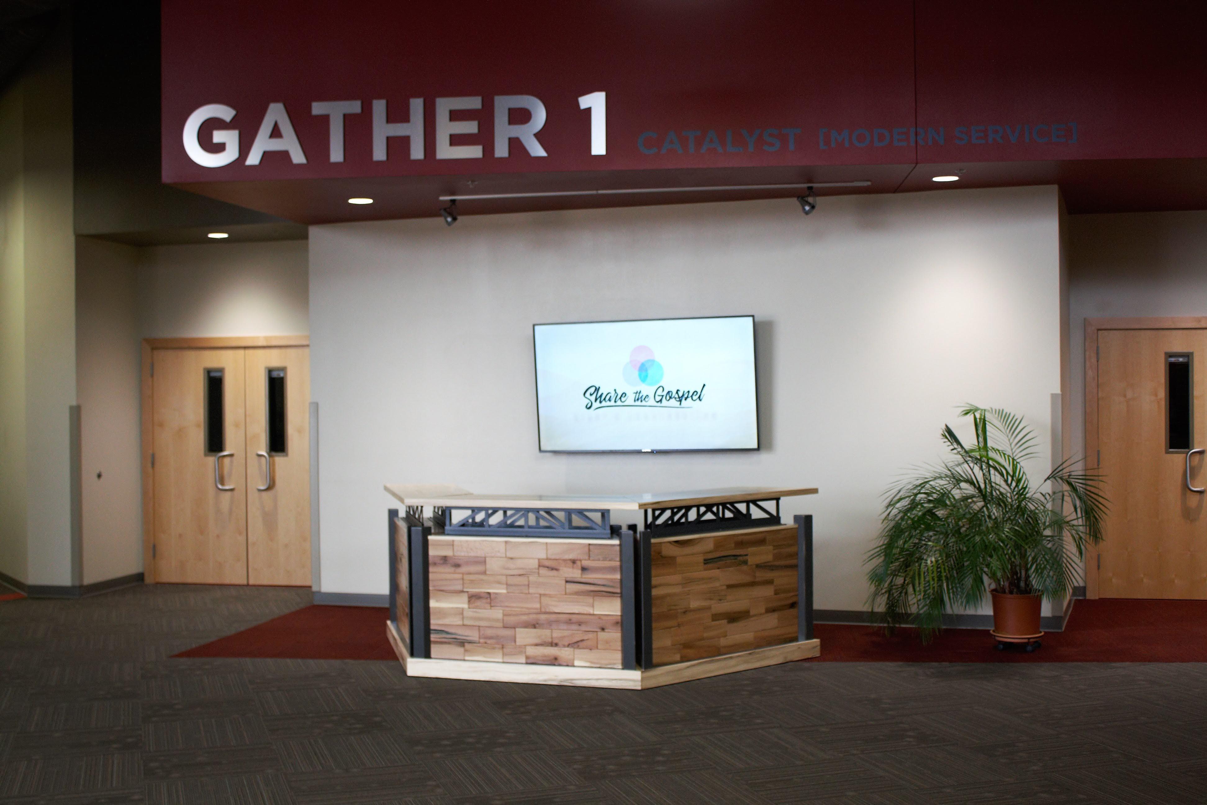 3 Kiosks Form Welcome center