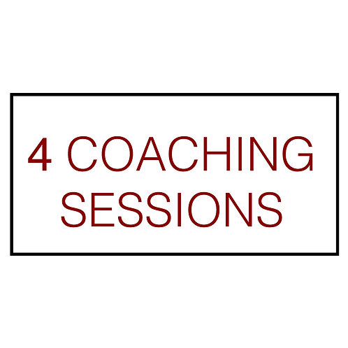 4 Coaching Sessions