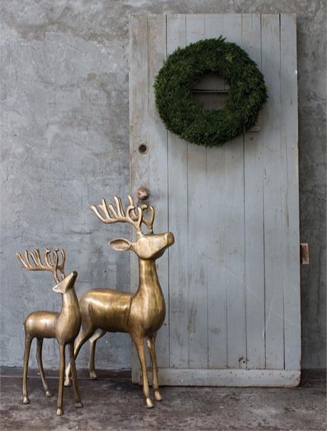 Aluminum Reindeer