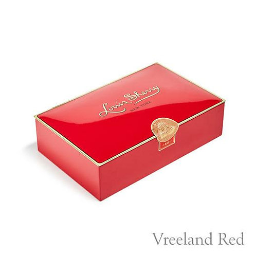 "Louis Sherry Chocolates ""Vreeland Red"" - 12 Pieces"