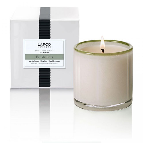 "LAFCO New York Fragranced Candle ""Feu de Bois"""