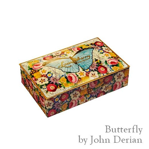 "Louis Sherry Chocolates ""Butterfly by John Derain"" - 12 Pieces"