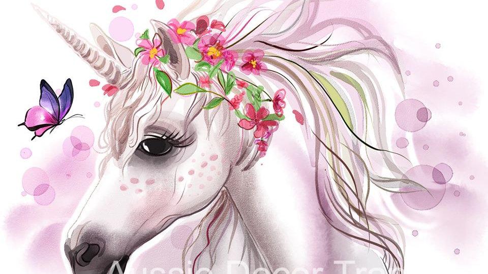Baby Unicorn photo print A2