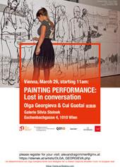 Einladung Performance Galerie Steinek 26. März 2021