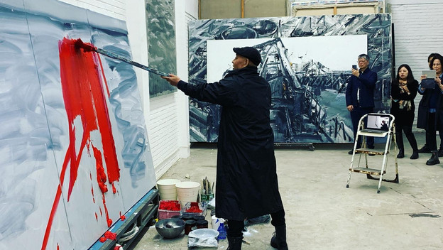 WAWN Live Painting in Beijing & Vienna