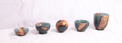 Resin and Burr Elm collection