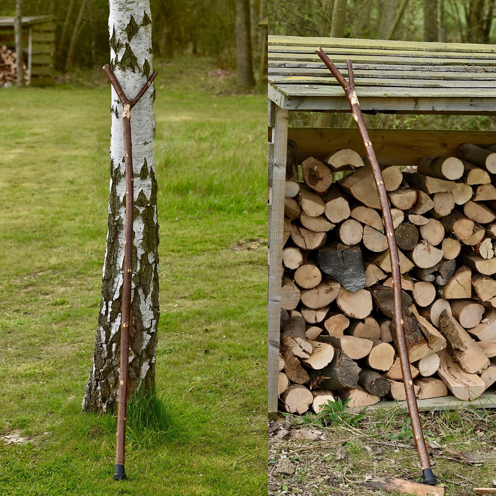 Walking sticks or as one recipient called it a social distancing stick