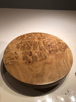 Burr Oak platter