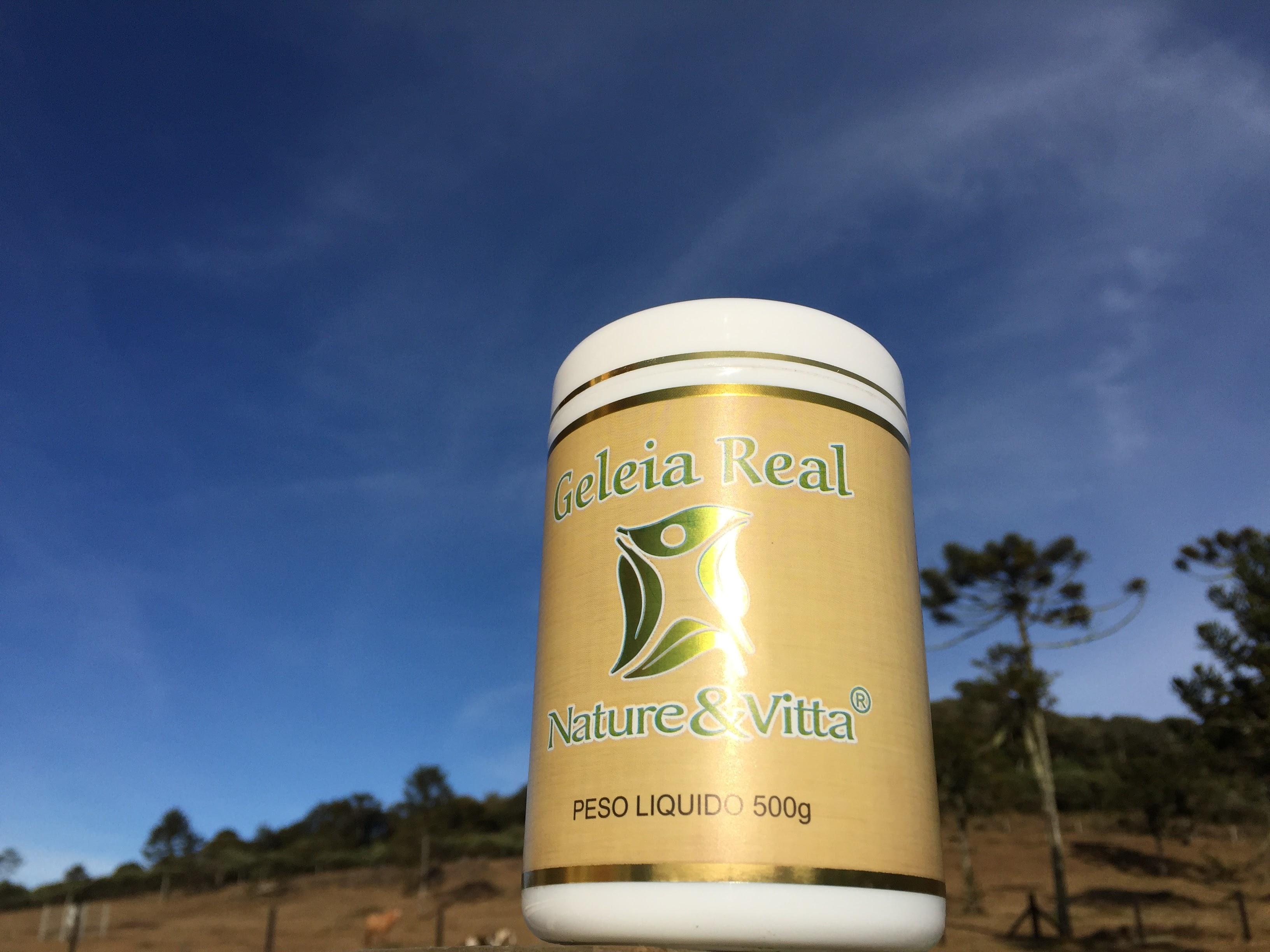 Geleia Real Nature&Vitta 500g