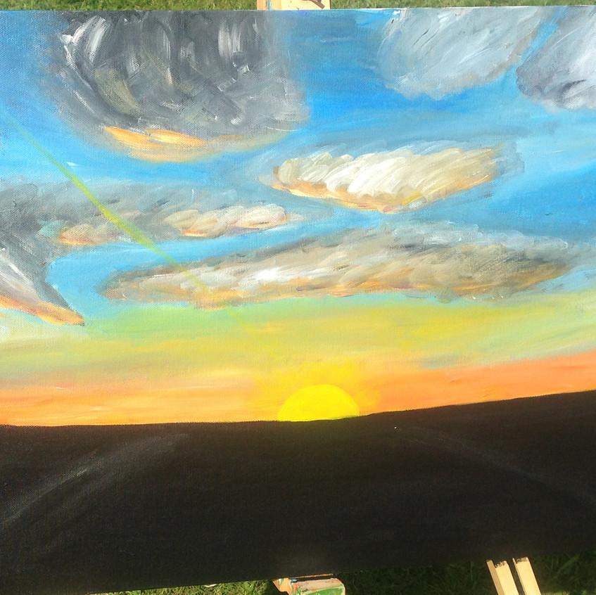Sunset at Warbleton