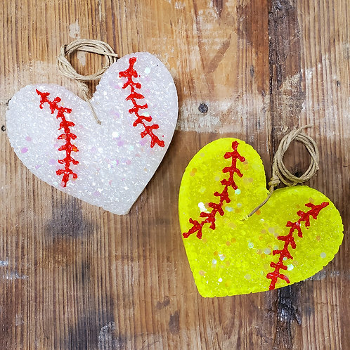 Baseball/Softball Heart