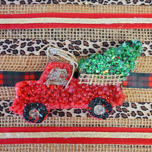 Christmas Truck Freshie