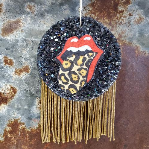 Rock n Roll Fringe Lips