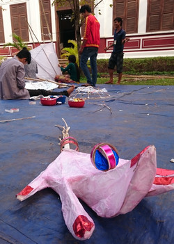 Giant Puppet Project Cambodia 2015
