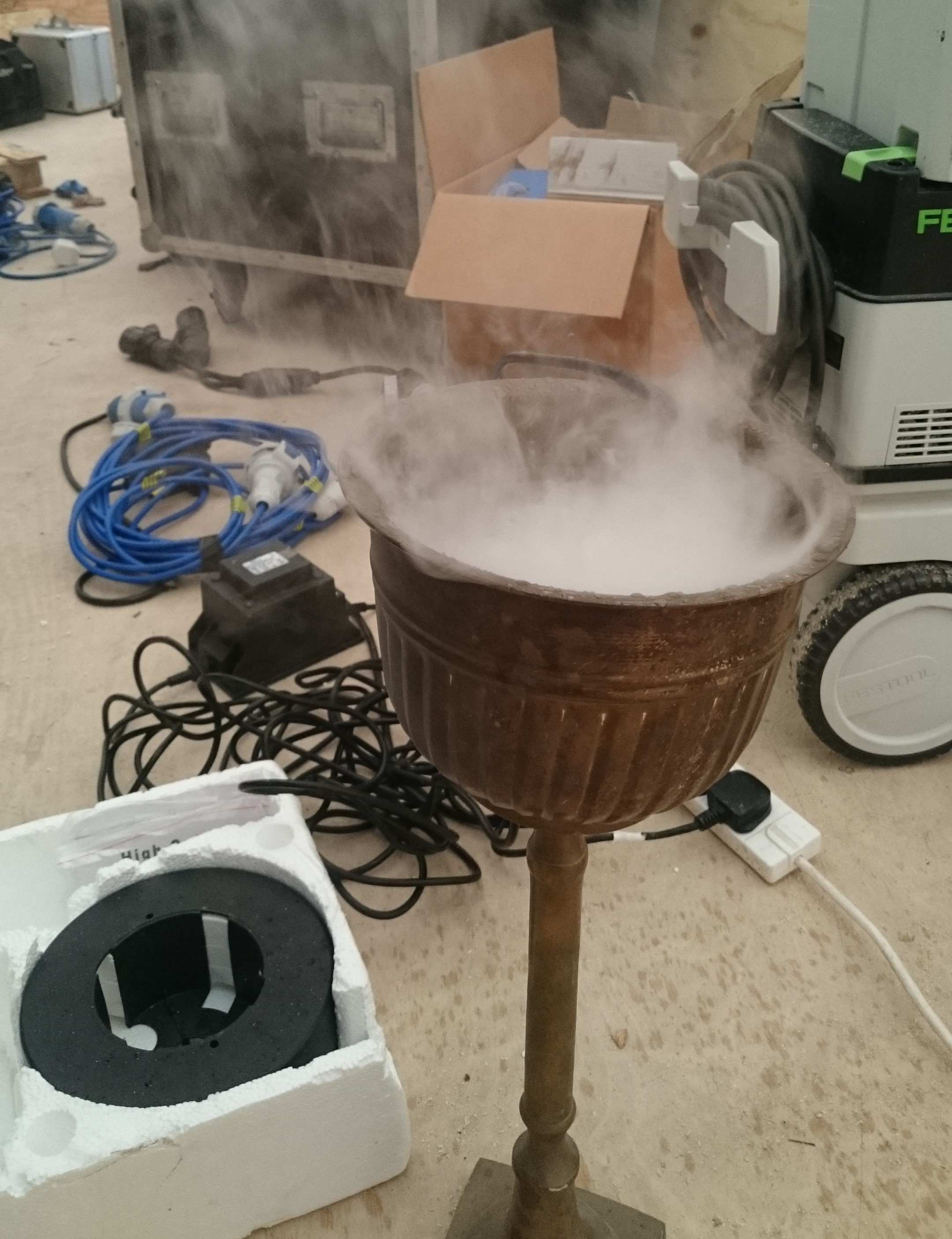 Halloweden potion testing