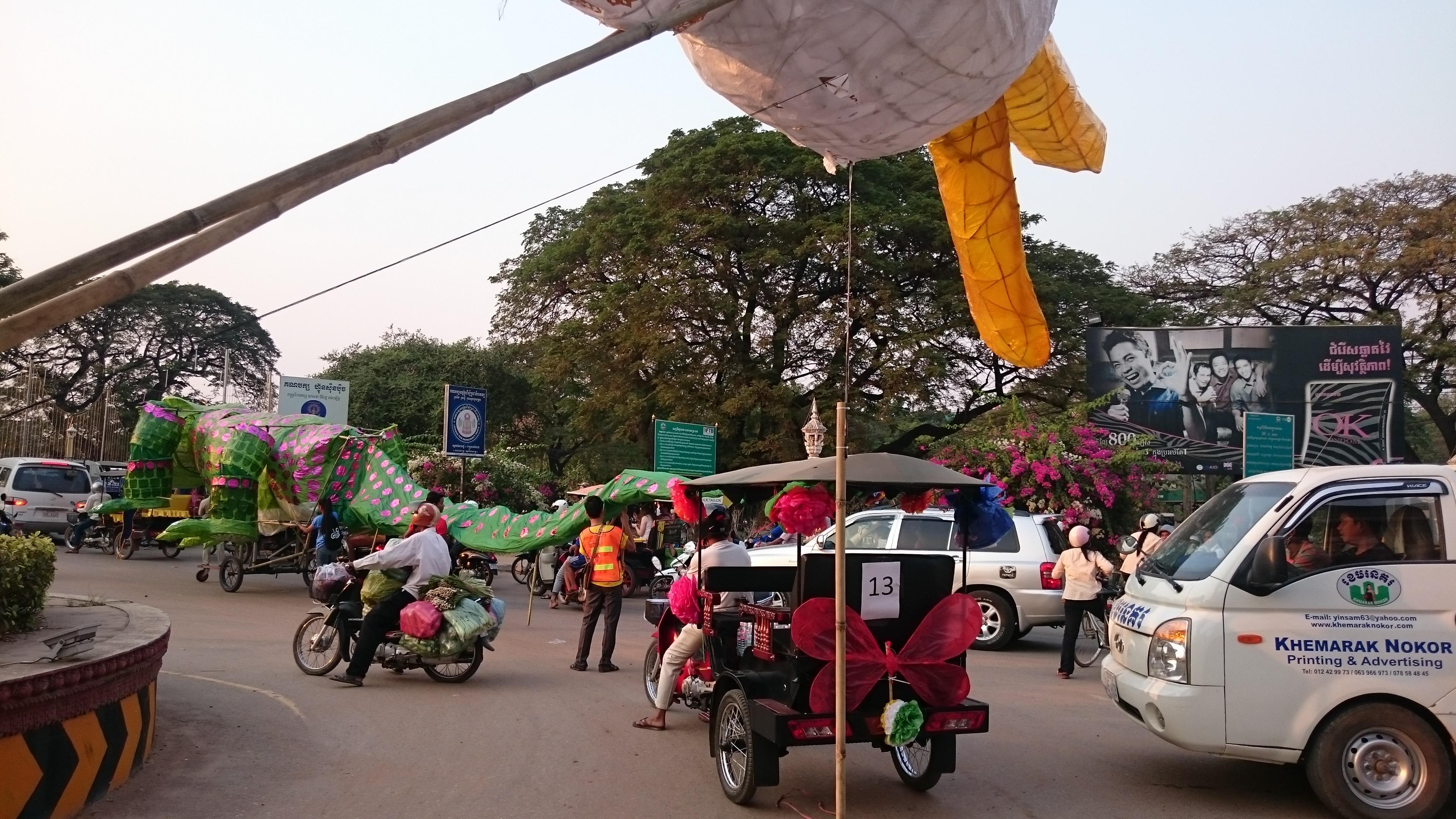 Puppet traffic jam