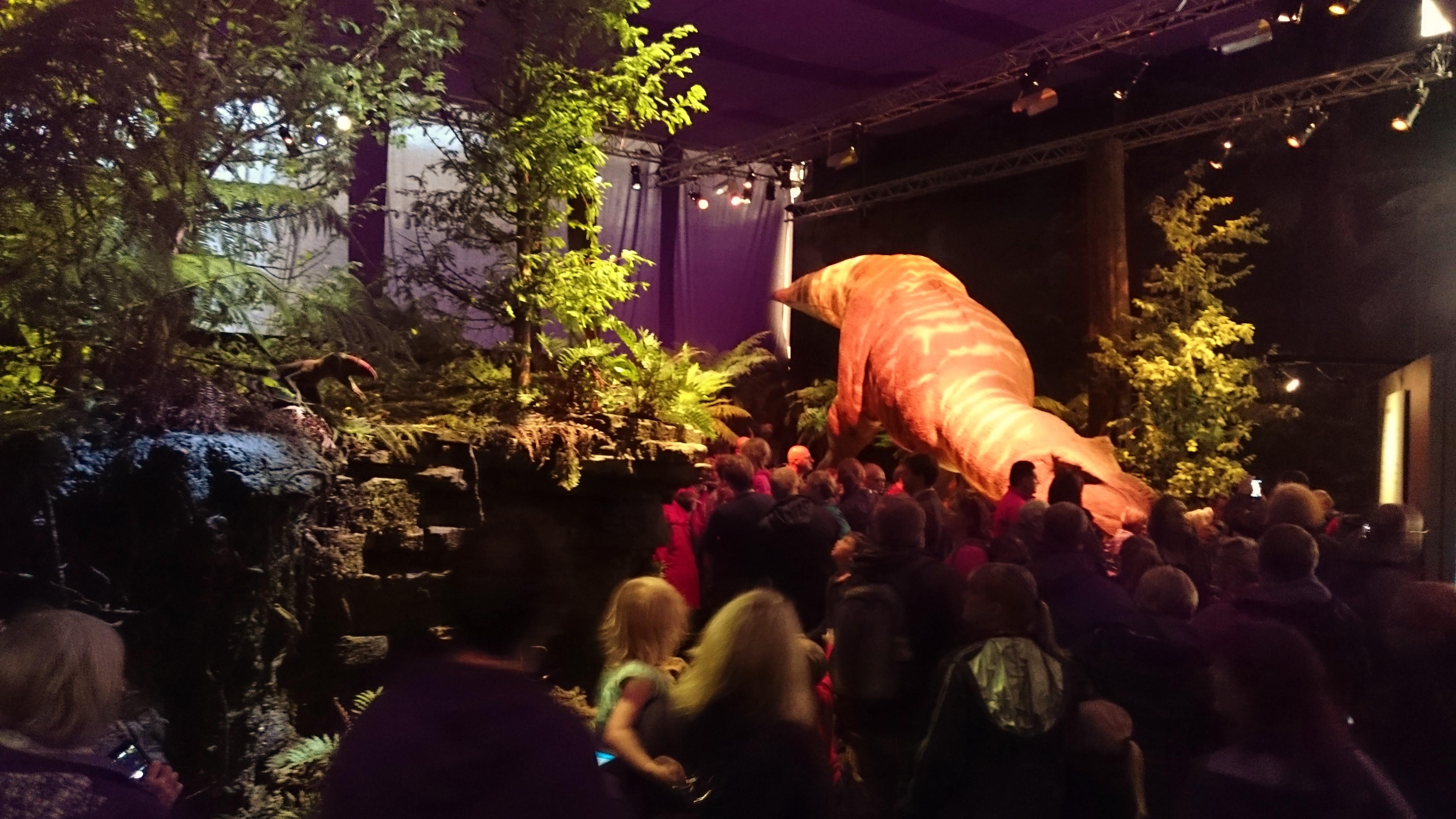 Eden Project Dinosaur Uproar 2015