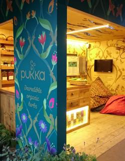 Pukka Tea installation 2015