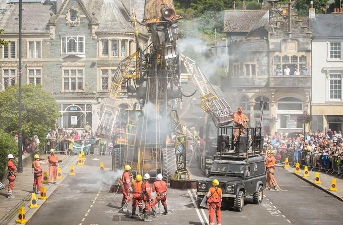 The Man Engine Tavistock 2016