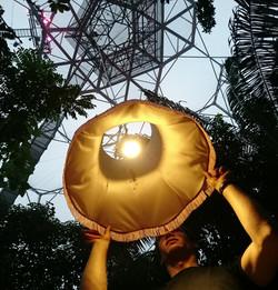 Rainforest ceiling lamp, 50m drop