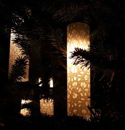 Tree lantern detail 1