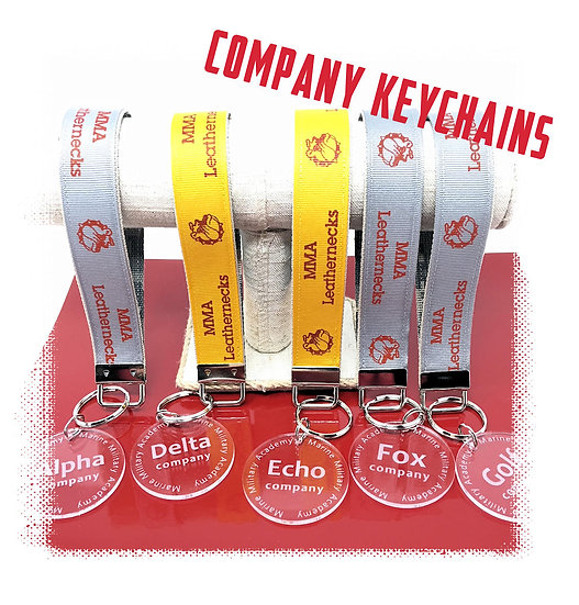 MMA Company Keychains