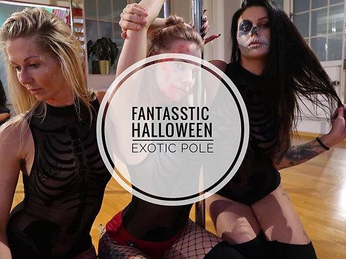 EXOTIC POLE FantASStic halloween
