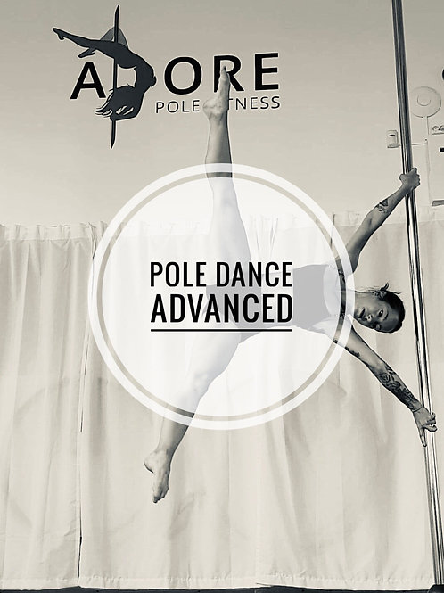 Pole fitness Advanced onsdagar