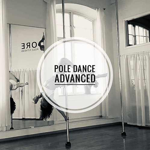 Pole fitness Advanced torsdagar