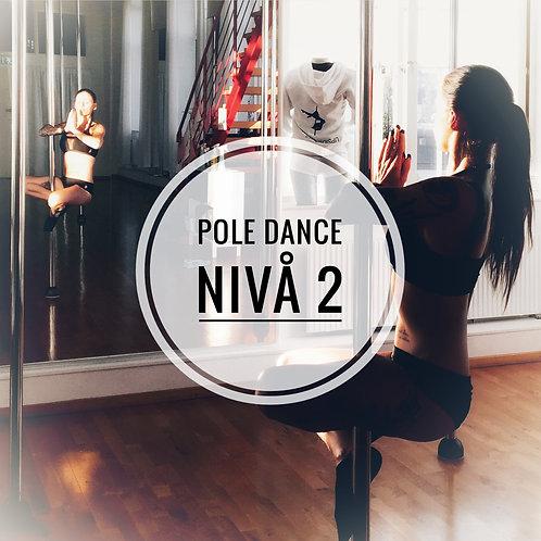 Pole fitness Nivå 2 onsdagar