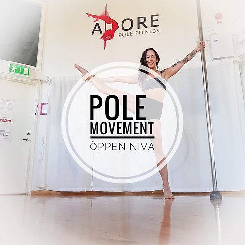 Pole movement - Öppen nivå