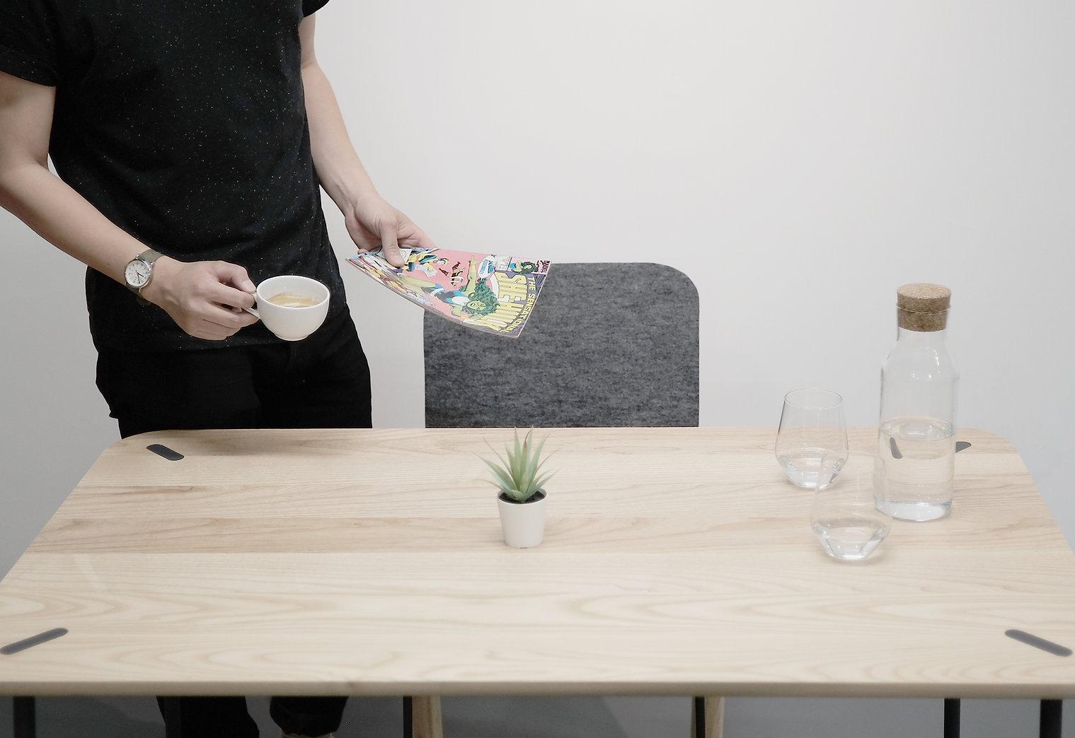 Things We Felt/Range One/Dining Table Se
