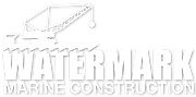 watermark marine construction logo