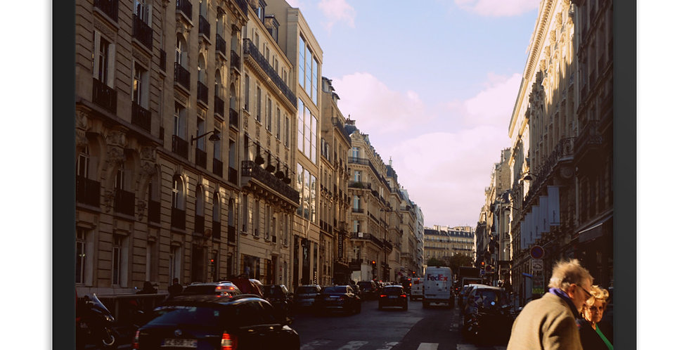 """""""A Sunny Day on Rue St.Honore"""""""