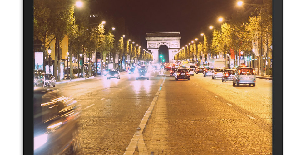 """A Night on the Champs-Élysées"""