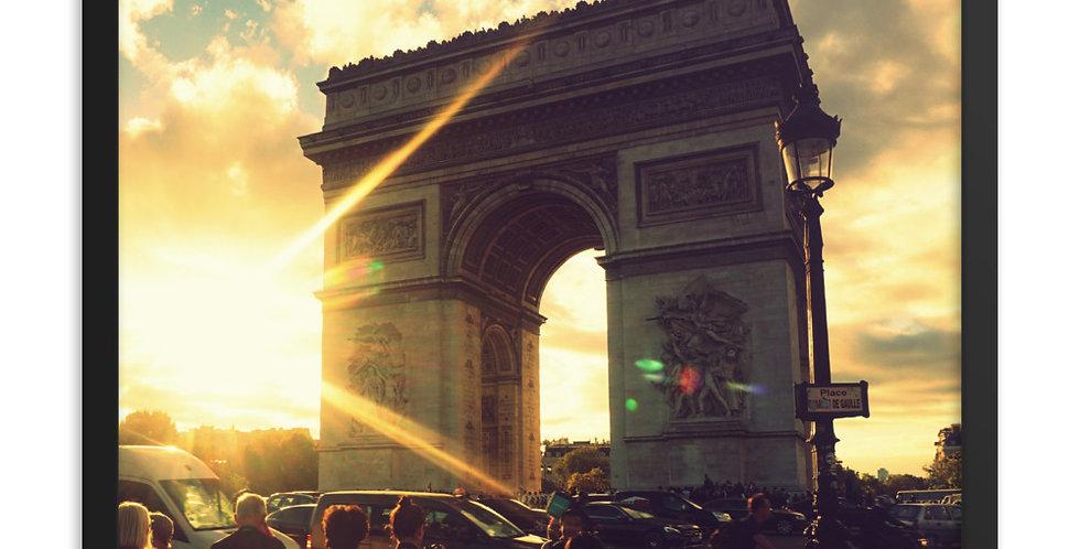 Sun Rays in Paris