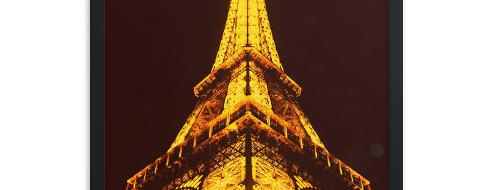 """Eiffel Tower At Night"" Wall Décor"