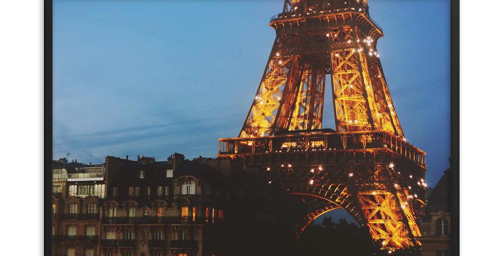 """Eiffel Tower at Dusk"""