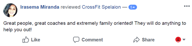 CrossFit Spelaion 5 Star Review