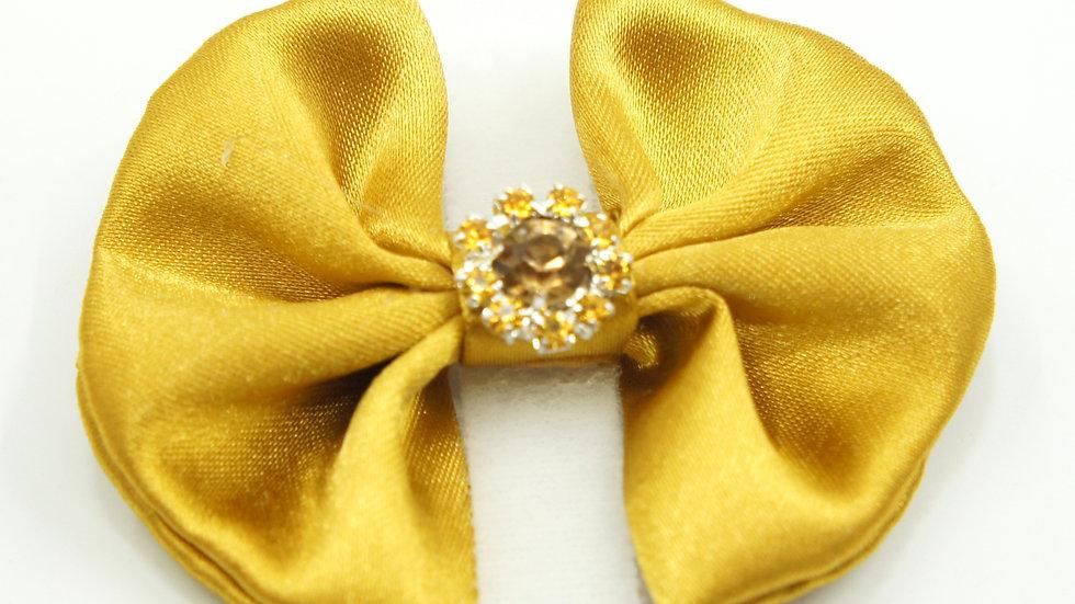 Elegant Gold Standalone Bowtie