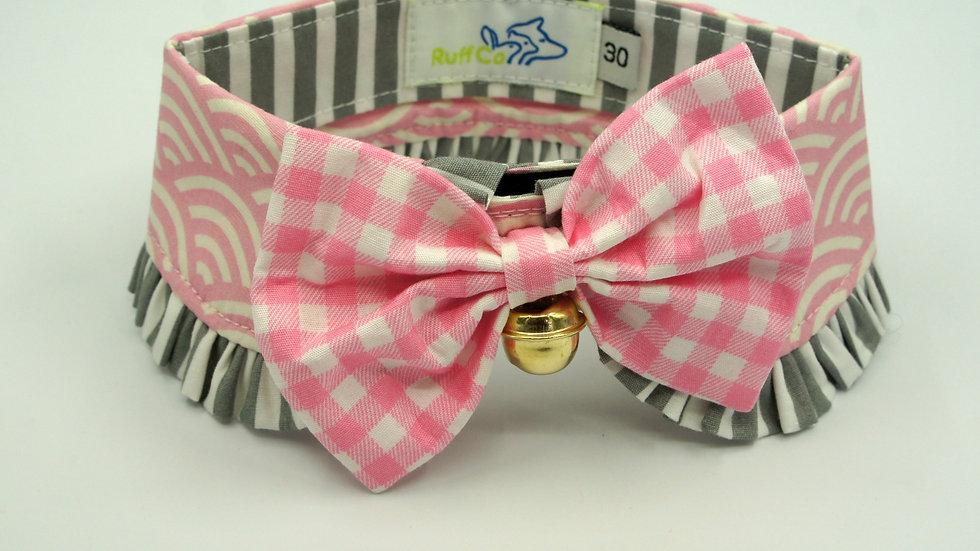 Pink Wavy Ruff