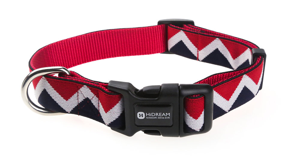 Rainbow Collar - Red
